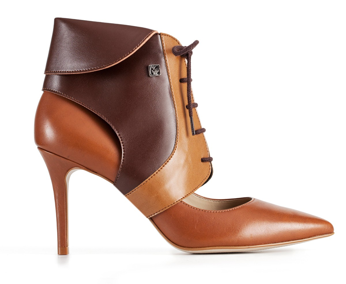 High heel ankle boots - Collari Ankle Camel Brown 5124b70d68c3