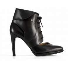 High heel ankle boots - Collari Ankle Black