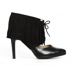 Sharon Fringe Black