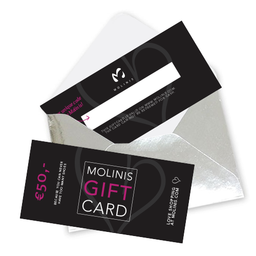 Geef Molinis kado ♡ Gift card t.w.v. 50 euro