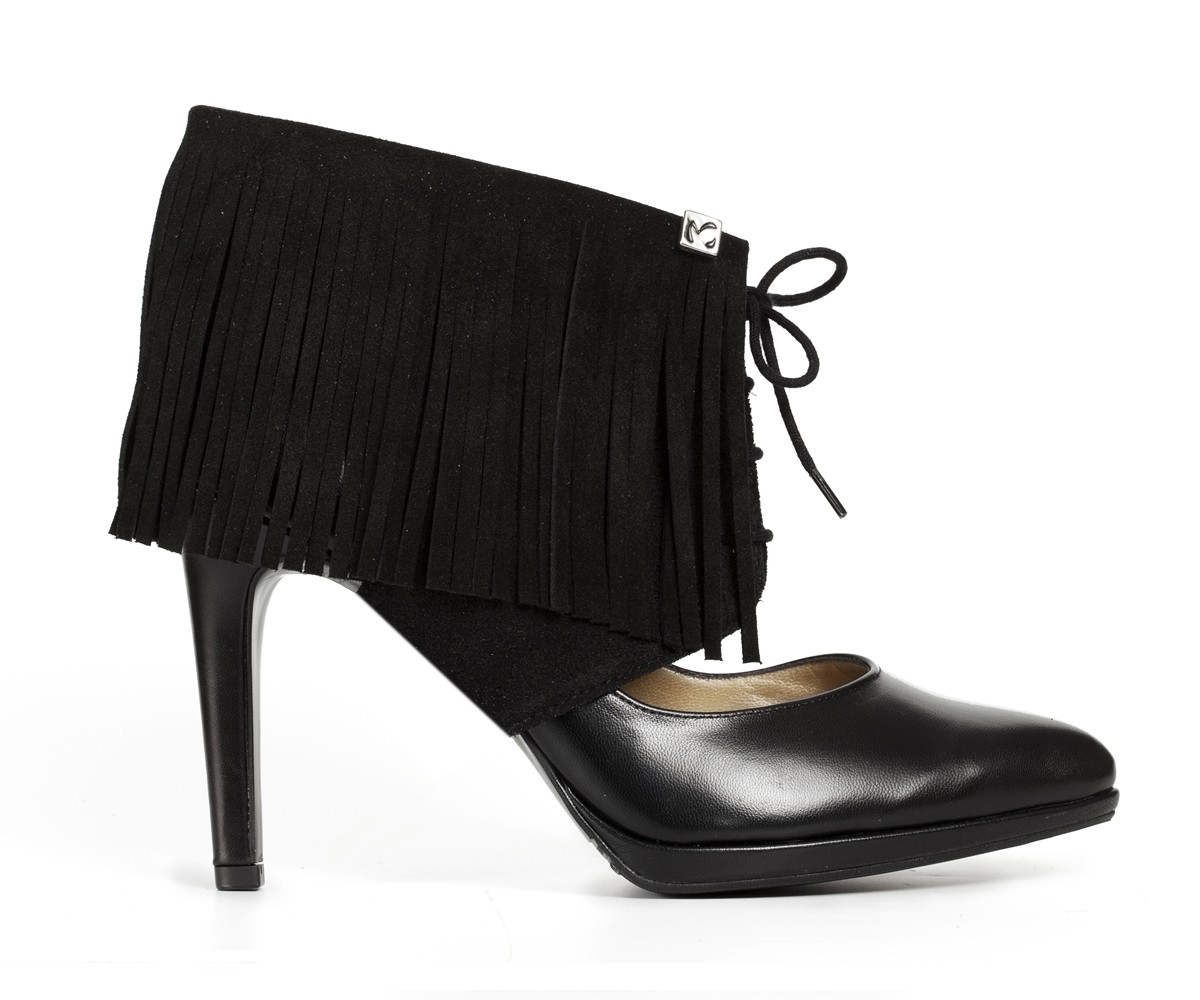 Sharon Fringe black Molinis