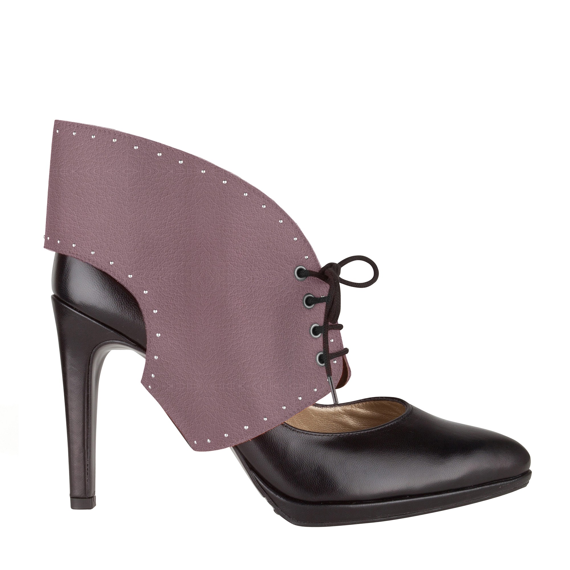 Ilona rose purple studded