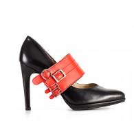 Sashy straps red