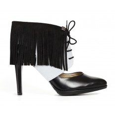 Sharon Fringe grey black Molinis