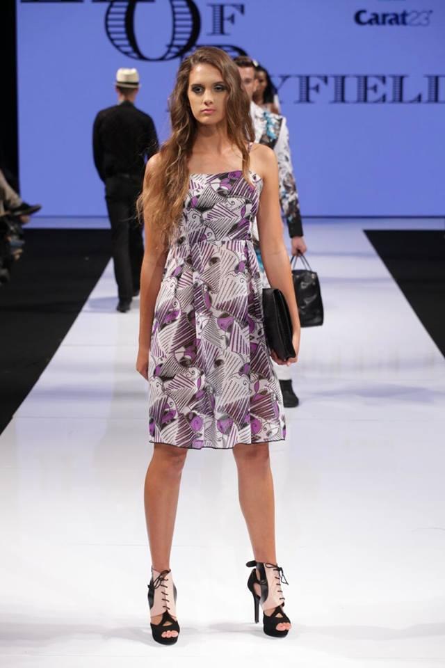 chichi lace-up pink Molinis fashion week